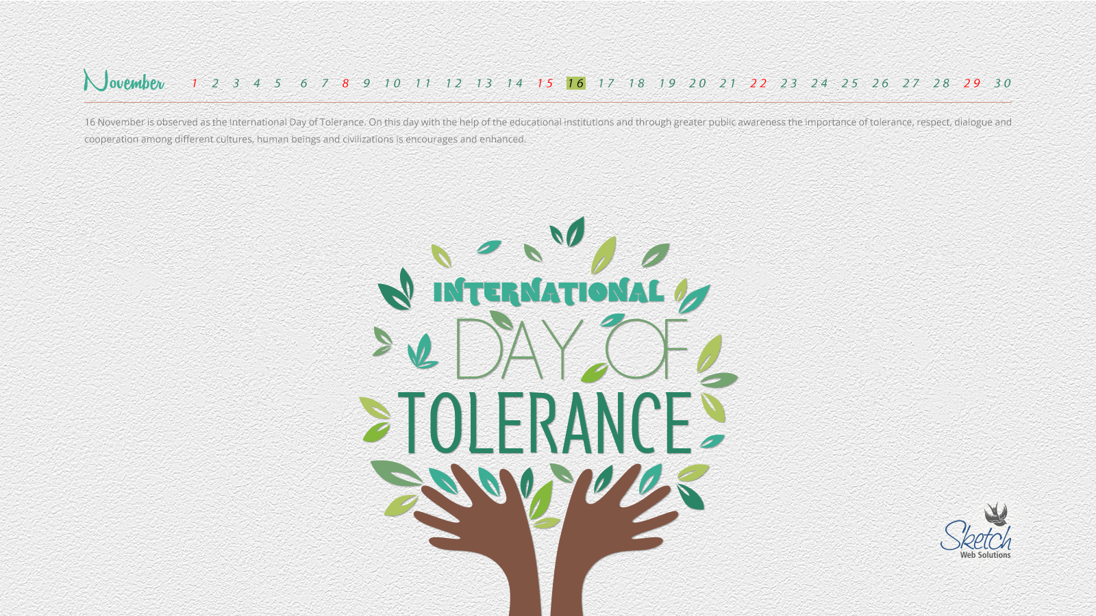 International Day of Tolerance