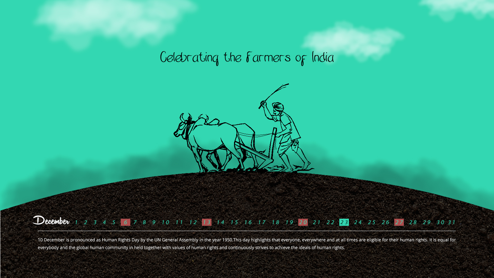 Celebrating the Farmers of India