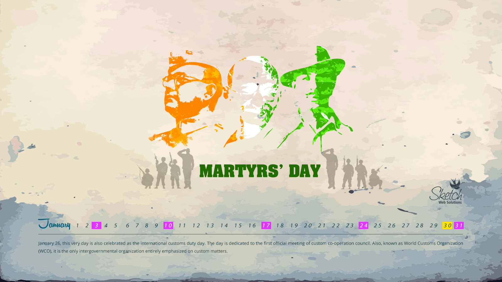 Martyrs' day 16