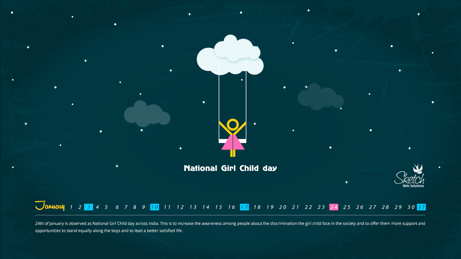 National Girl Child day 16