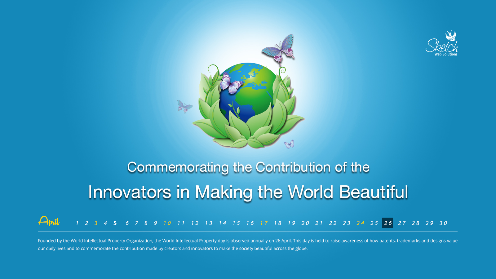 Commemorating the Contribution of the Innovators in Making the World Beautiful