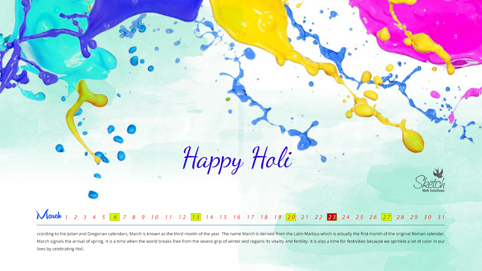 Happy Holi 1