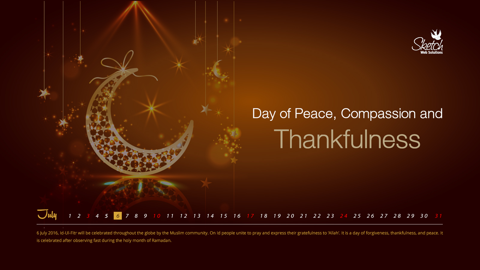 Day of Peace, Compassion and Thankfulness