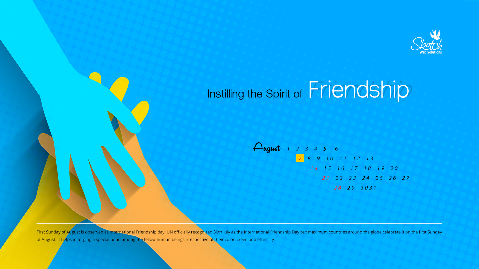 Instilling the Spirit of Friendship